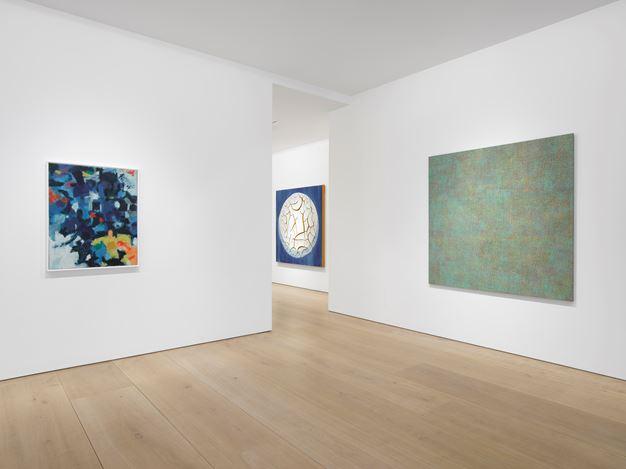 Exhibition view: Group Exhibition, Surface Work,Victoria Miro Mayfair (11 April–16 June 2018). Courtesy Victoria Miro, London/Venice.