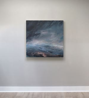 Sea state force 7 - Sea heaping up by Janette Kerr contemporary artwork