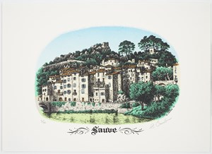 Sauve by R. Crumb contemporary artwork