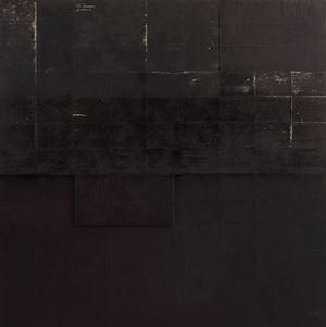 Black Dreams III by Pinaree Sanpitak contemporary artwork