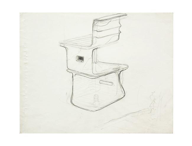 study - Vertical Ooze by Tishan Hsu contemporary artwork