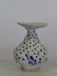 Untitled (polka dot) by Johannes Nagel contemporary artwork sculpture