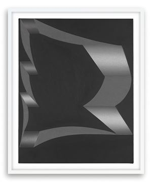 Untitled (Uto), 2008 (For Parkett 84) by Tomma Abts contemporary artwork