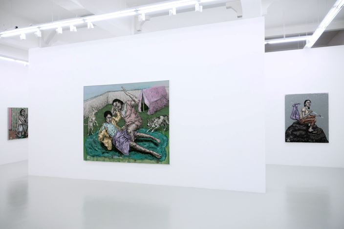 Exhibition view: Johanna Helmuth,One Thing After Another(15 February–9 March 2020). Courtesy Yavuz Gallery, Singapore.