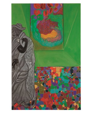 Ovid-Destiny by Chris Ofili contemporary artwork