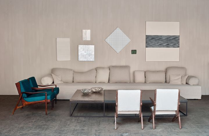 Axel Vervoordt Gallery, BRAFA 2019 (26 January–3 February 2019). Courtesy Axel Vervoordt Gallery.