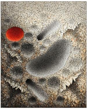 Aggregation 13-DE061 by Chun Kwang Young contemporary artwork mixed media