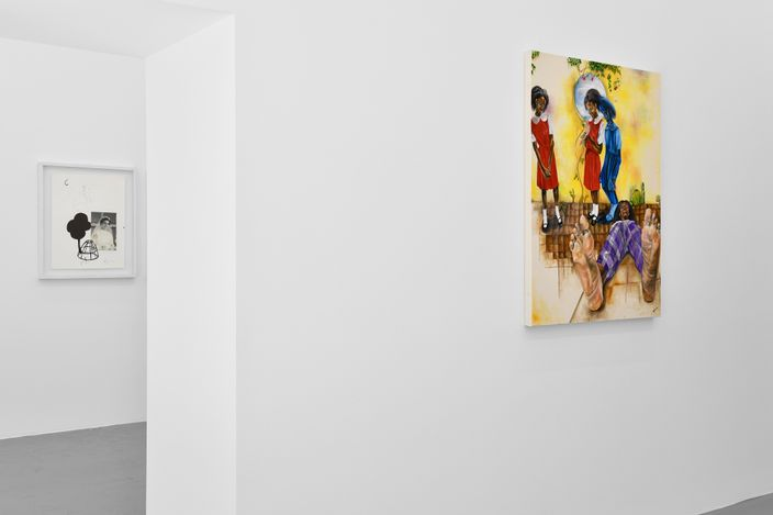 Exhibition view: Group Exhibition,Colours of my dream, Fabienne Levy, Lausanne (4 June–4 September 2021). Courtesy Fabienne Levy Gallery. Photo:Zoé Aubry.