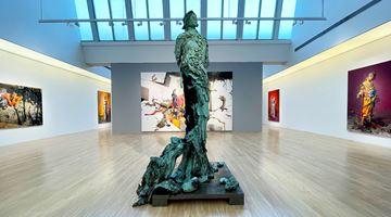 Contemporary art exhibition, Jonas Burgert, Blindstich at Tang Contemporary Art, Beijing 2nd Space