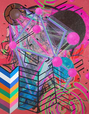 Galactic Journal: Rose Hill Drive by Robert Reed contemporary artwork