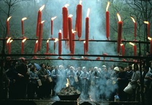 Qingming Festival, Hangzhou, China by Hiroji Kubota contemporary artwork