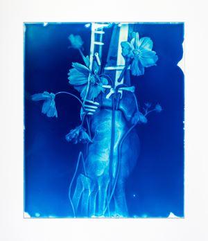 Blood Blue No.21 by Hu Weiyi contemporary artwork