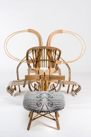 Chair and Ottoman by Sarah Contos contemporary artwork