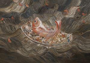 Big Fish by Duan Zhengqu contemporary artwork