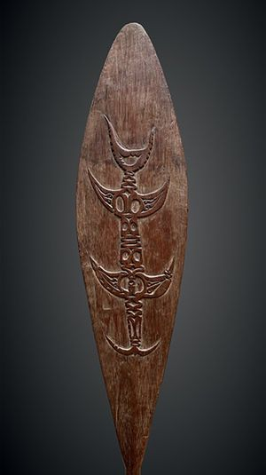 Humboldt Bay Paddle by Melanesia contemporary artwork