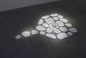 Flat Stone by Mariko Mori contemporary artwork