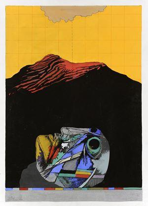 Desert Landscape by Dia Al-Azzawi contemporary artwork