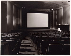 An empty movie theater, N.Y.C by Diane Arbus contemporary artwork