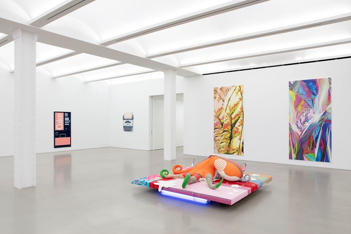 Exhibition view: Group Exhibition, The Secret History of Everything, Perrotin, New York (9 July–14 August 2020). Courtesy the artists and Perrotin. Photo: Guillaume Ziccarelli.