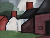 Untitled by Oscar Bluemner contemporary artwork painting