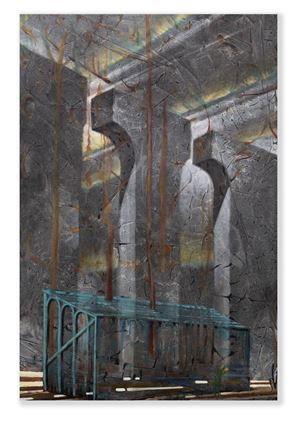 Haunted Main Stand (Otherwise known as doubt) by Derek Cowie contemporary artwork