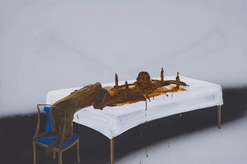 Shit Mom (Feedback) by Tala Madani contemporary artwork