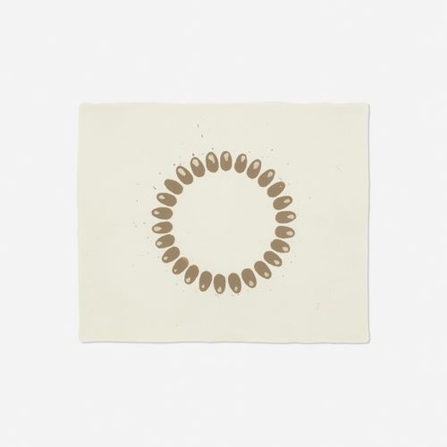 Untitled (Mud Drawing) by Richard Long contemporary artwork
