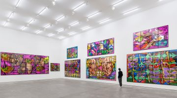 Contemporary art exhibition, Gilbert & George, THE PARADISICAL PICTURES at Sprüth Magers, Berlin