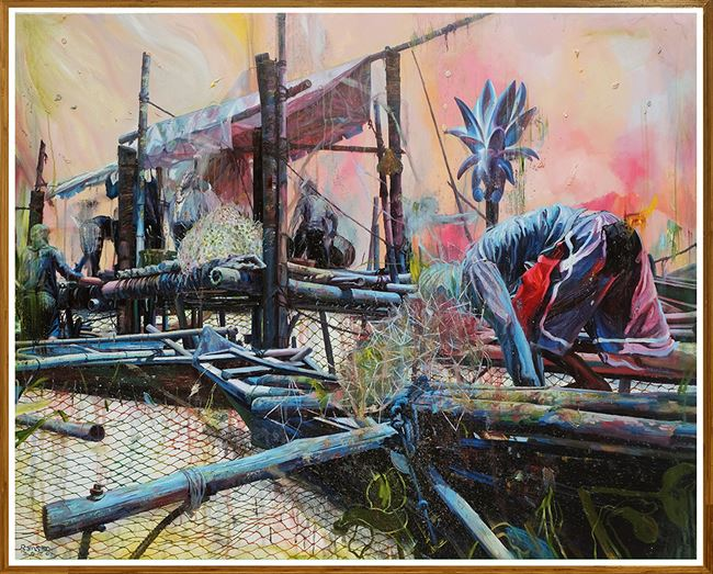 Recess by Ronson Culibrina contemporary artwork