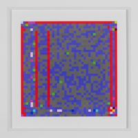 Jazz Junction #16/3 by Robert Owen contemporary artwork print