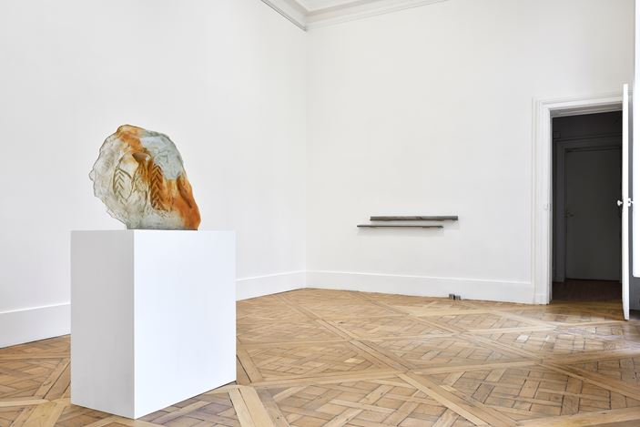 Exhibition view: Group Exhibition, Metallo Urlante, Campoli Presti, Paris (25 January–29 February 2020). Courtesy Campoli Presti.