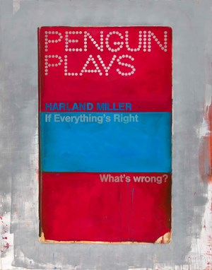 If Everything's Right What's Wrong by Harland Miller contemporary artwork