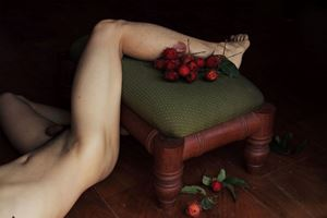 Self-portrait (Burn) by Shen Wei contemporary artwork