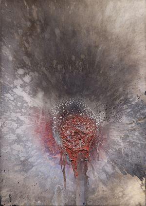Untitled by Otto Piene contemporary artwork