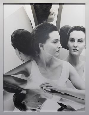Me as Meret Oppenheim by Gillian Wearing contemporary artwork