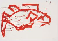 Ocean Drawing 1 by Joan Jonas contemporary artwork painting, works on paper, drawing