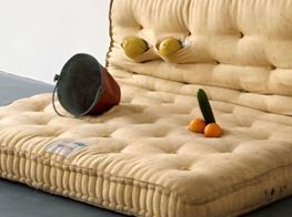 Review: Sarah Lucas show at the Hammer Museum is naked but definitely not afraid