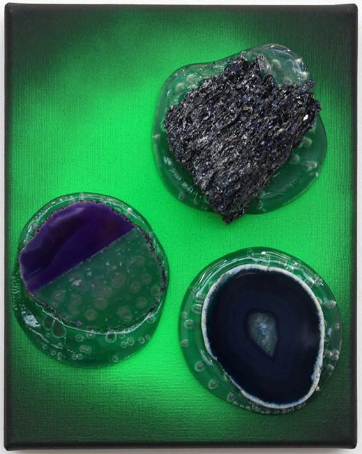 Green gaze 3 by Judy Darragh contemporary artwork