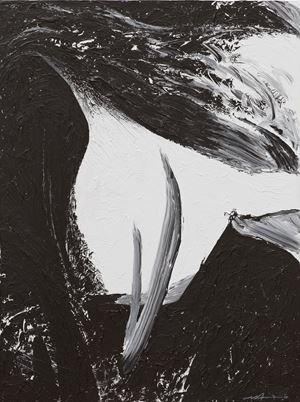 Le phénix étire ses ailes en avant et en arrière by Ma Desheng contemporary artwork