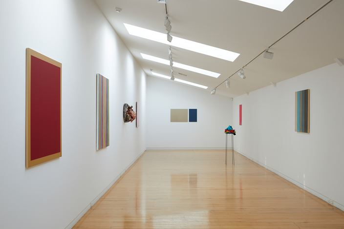 Exhibition view: WestFarbe: Paint vs Colour, Two Rooms, Auckland (31 January–29 February 2020). Courtesy Two Rooms.