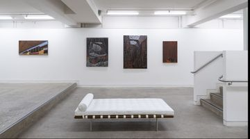 Contemporary art exhibition, Derek Cowie, Paintings at Page Galleries, Wellington, New Zealand