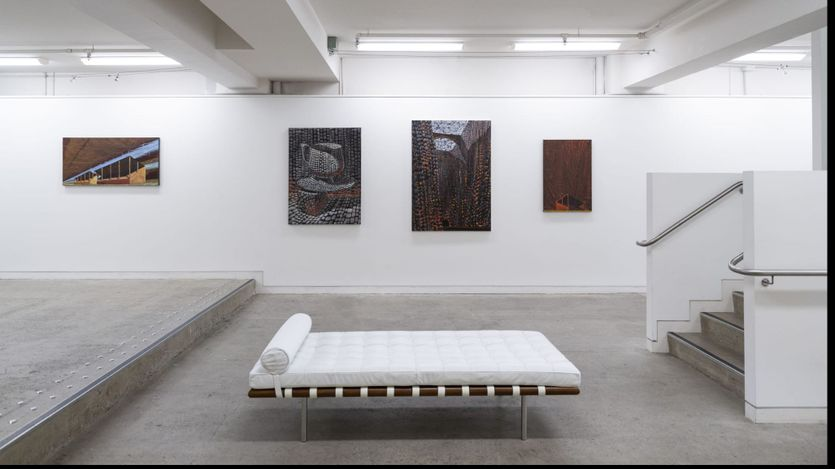 Exhibition view: Derek Cowie, Paintings, PAGE Galleries, Wellington (4–27 March 2021). Courtesy PAGE Galleries.