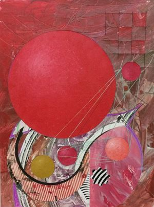 Galactic Journal, Untitled #128 by Robert Reed contemporary artwork