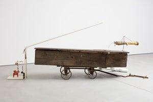 The Coffin 21 gram by John Bock contemporary artwork