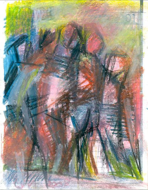 Broken Foot Journal by Reba Hore contemporary artwork