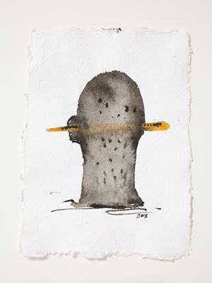 Head[case] working drawing 11 by Julia Morison contemporary artwork