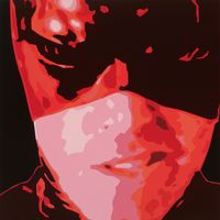 Vivid Vibration by Kelcy Taratoa contemporary artwork painting