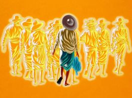 """Group exhibition<br><em>Myanmar Voices: We Are Still Here</em><br><span class=""""oc-gallery"""">Karin Weber Gallery</span>"""
