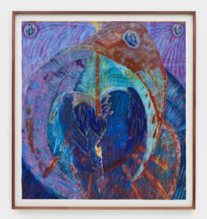 Guided Destiny by Mimi Lauter contemporary artwork works on paper, drawing