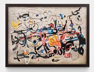 Surfaces: Calligraphy, after Carla Accardi by Vik Muniz contemporary artwork
